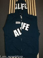 ALIFE NAVY BLUE BOX LOGO ARC HOODIE MEDIUM M TYLER OFWGKTA