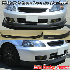 SPN Style Front Lip (Urethane) Fits 99-00 Honda Civic 3dr