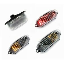 Clear LED Turn Signals Tail Light For 1997-2005 Honda Super Hawk 1000 VTR1000F