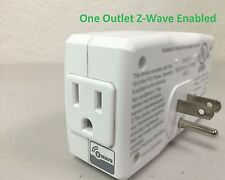 Wireless Control Enerwave Z-Wave Outlet Plug-in Power Light Switch Adapter Plug