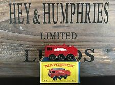 matchbox regular wheels no.63B-2.Version mint OVP E-4 excellent from 1964/66