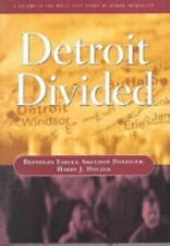 Detroit Divided (Multi City Study of Urban Inequality)-ExLibrary
