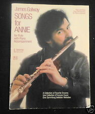 James Galway Songs For Annie, For Flute With Piano Accompaniment, Sheet Music