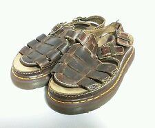 Doc Dr Martens Brown Fisherman Sandals Leather Men's Size US 8 UK 7