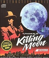 Under A Killing Moon TEX Murphy Adventure Clues games PC CDs bad CD3