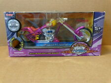 1:12 SCALE 2004 ARROW MONSTER CHOPPER WITH SOUND & LIGHT COLOR PURPLE BOLEY TOYS
