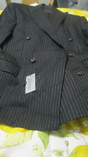 "NWT RALPH LAUREN SUIT ""GANGSTA"" 40r 33W yr round WOOL BLACK HIGRADE"