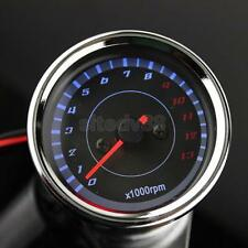 Universal Motorcycle LED Backlight Tachometer Speedometer Tacho Gauge RPM