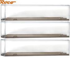 3 Stück Roco H0 40026 Vitrine / Präsentationsbox für Modelle bis 290 mm - NEU