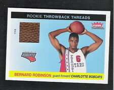 Bernard Robinson 2004-05 Fleer Event-Used Basketball Card #TT-BR Michigan