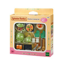 Sylvanian Families Furniture & Accessories 5028 Kitchen Cooking Set /Age 3+