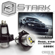 BMW Angel Eyes E90 E91 3 Series High Power LED Lights Ring Bulbs White Halo PAIR