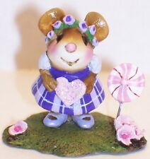 Wee Forest Folk Special Color Petit Four Purple Attendee WFF
