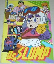 Dr. Slump Movie Program Art Book Anime Akira Toriyama Manga