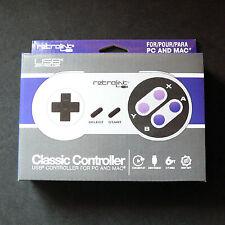 RetroLink RetroBit Super Nintendo SNES PC Mac USB Controller Gamepad Joystick