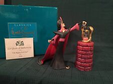 "WDCC Aladdin - Jafar ""Oh Mighty Evil One"" New in Box"