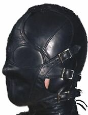 Sensory Deprivation Hood Gimp Mask -Blindfold Fetish Roleplay Submission