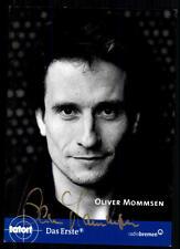 Oliver Mommsen escena del crimen autografiada mapa original firmado # bc 16163