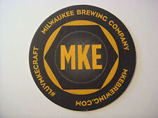 Beer Bar Coaster ~*~ MILWAUKEE Brewing Company ~ MKE Dictionary ~*~ Local Flavor