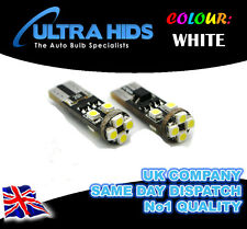 AUDI A6 A4 A3 B7 8P TT RS4 ICE White LED CANBUS 501 Side Light Blubs 8 SMD Xenon