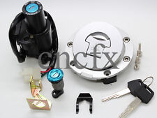 HONDA CBR600RR VFR800 VTR1000 F CB1300 CNC Ignition Switch Gas Cap Seat Lock