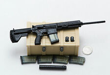 1/6 Easy & Simple Panther HK 417 Rifle Magazine Silencer Lot *TOY*