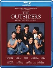 THE OUTSIDERS New Sealed Blu-ray Complete Novel Edition Matt Dillon Tom Cruise