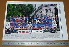 CLIPPING POSTER FOOTBALL 1999-2000 MONTPELLIER HERAULT MHSC LA PAILLADE MOSSON
