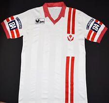 1987-1989 come NANCY Uhlsport Calcio Casa Maglietta (Taglia XL)