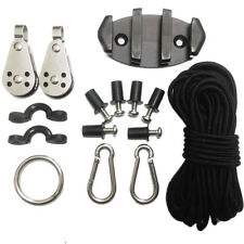 Kayak Anchor Trolley Kit With Fixings A4 Marine Grade Stainless Steel NA