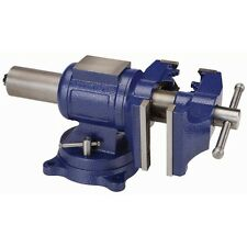 5 inch Multi Purpose Vise With 360 Swivel Base & Dual Steel Jaws!