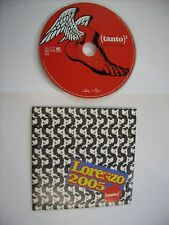 JOVANOTTI - TANTO - CD SINGLE PROMO CARDSLEEVE 2005 - EXCELLENT