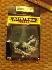 Rumore caos marine SONIC Blaster BLISTER SIGILLATO RARE METAL fuori catalogo WARHAMMER 40K GW