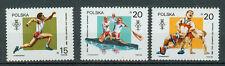 Polen Briefmarken 1988 Olympia Seoul Mi.Nr.3149-3151 Postfrisch