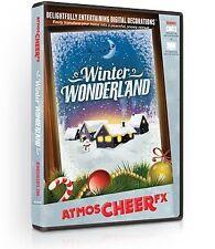 NEW AtmosCHEERfx Winter Wonderland Holiday Digital Decorations (DVD)
