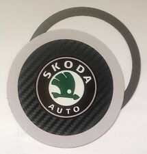 Magnetic Tax disc holder fits any skoda car
