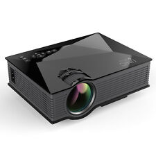UC46 Multimedia 1200Lumens WiFi Wireless Portable LCD/LED Home Theater Projector