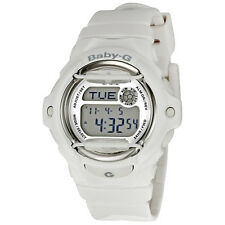 Casio Baby G White Resin Digital Ladies Watch BG169R-7A