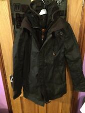 Men's Superdry Trench Jacket - Large
