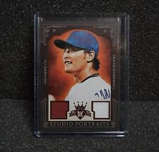 2015 Diamond Kings Studio Portraits Framed Red YU DARVISH Dual relic Jersey 3/15