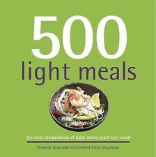 500 Light Meals: The Only Compendium of Light Meals You'll Ever Need (500 Series