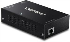 TRENDnet TPE-E110 Gigabit PoE+ Repeater/Amplifier Black (V1.0R)