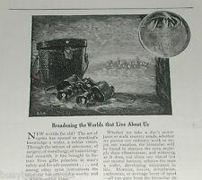 1921 Bausch & Lomb Optical Co advertisement, Binoculars