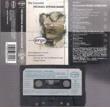 THE ESSENCIAL Michael Nyman Band  UNIQUE DIFFICULT SPANISH CASSETTE ARGO  PAPER