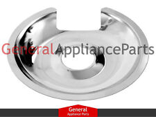 "Stove Range Cooktop 8"" Chrome Burner Drip Pan Bowl DBPA010"