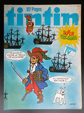 Fascicule périodique Journal Tintin N° 12 1978 TBE complet poster