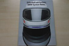 168387) BMW-casco de sistema-folleto 02/1981