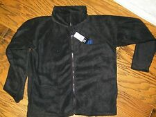 WFS Element Gear Full Zip Fleece Jacket Size M Black Vail Colorado Men's Black