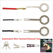 3x Aluminum Car Electrical Terminal Wiring Crimp Fast Extractor Removal Key Tool