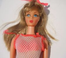 Gorgeous Twist 'N Turn Barbie Doll High Color Blonde with Silver Hair in OSS